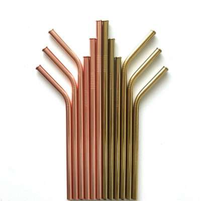 Scratch-Proof Metal Straws supplier