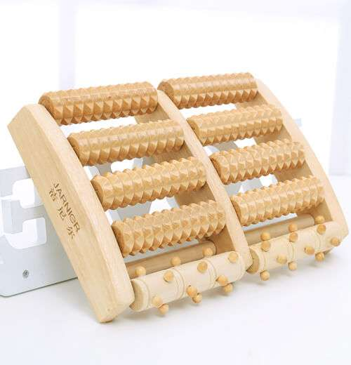 Wodden foot massager Roller factory