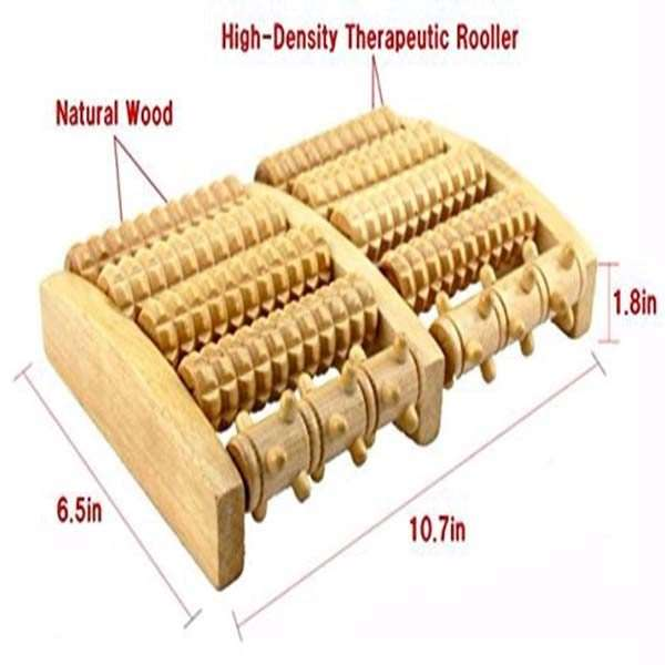 dual foot massager roller factory