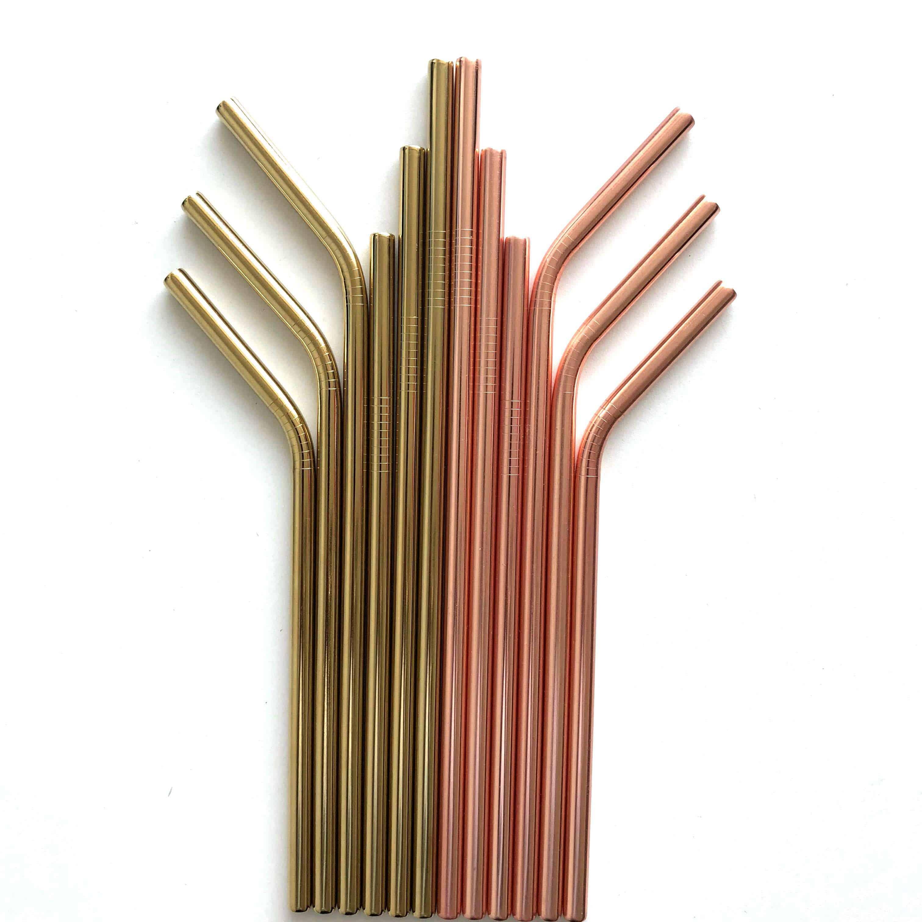 stainless steel drinking straws supplier