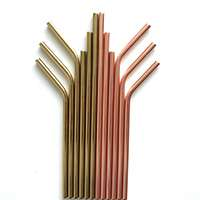 Colorful metal Straws