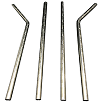 New Pattern metal straws supplier