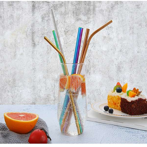 colorful metal straws supplier