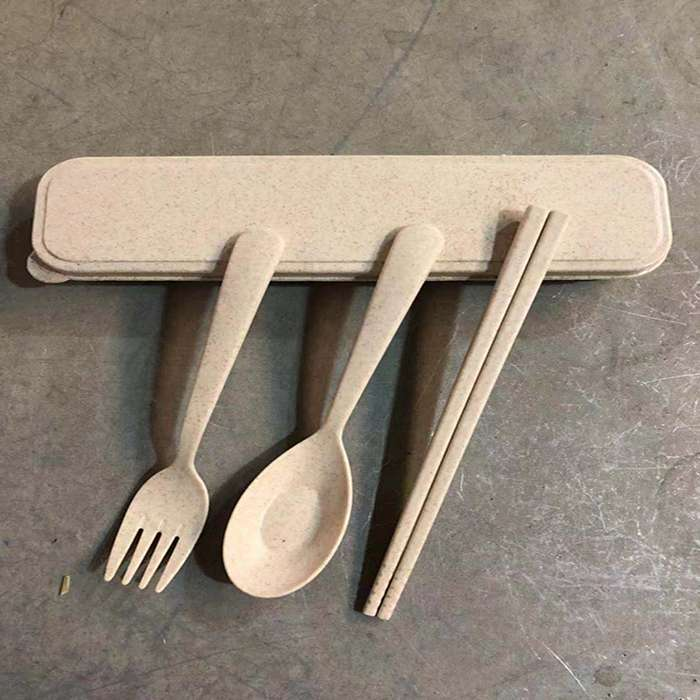 Eco wheat cutlery Wholesale