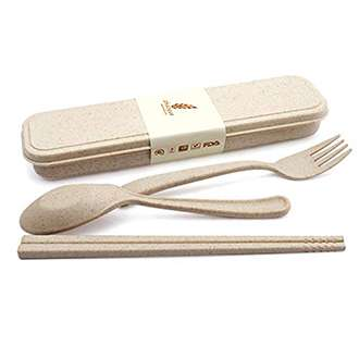 Eco wheat cutlery factory