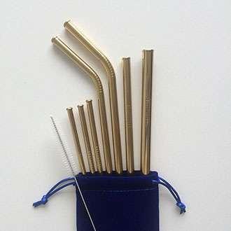 Scratch proof straw