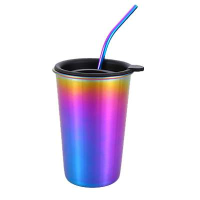 Stainless steel straws Cup
