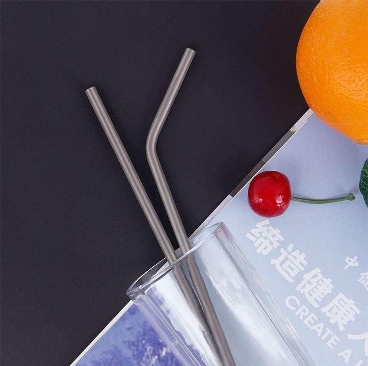 titanium straw China