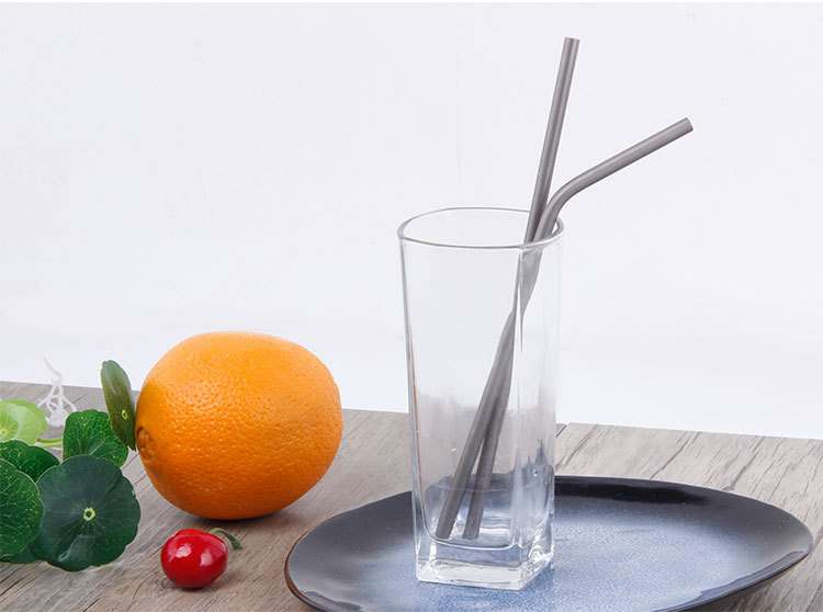 titanium straw vender