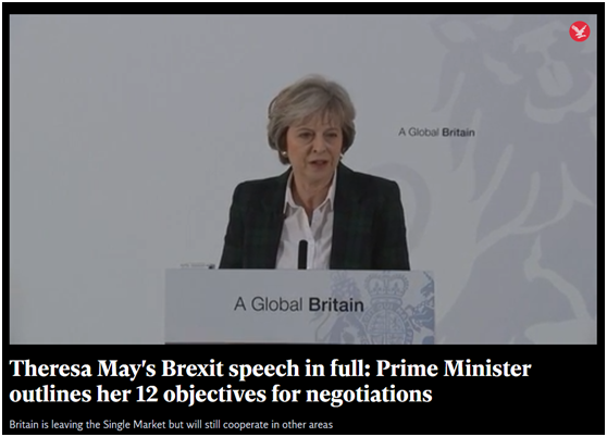 Prime Minister Theresa