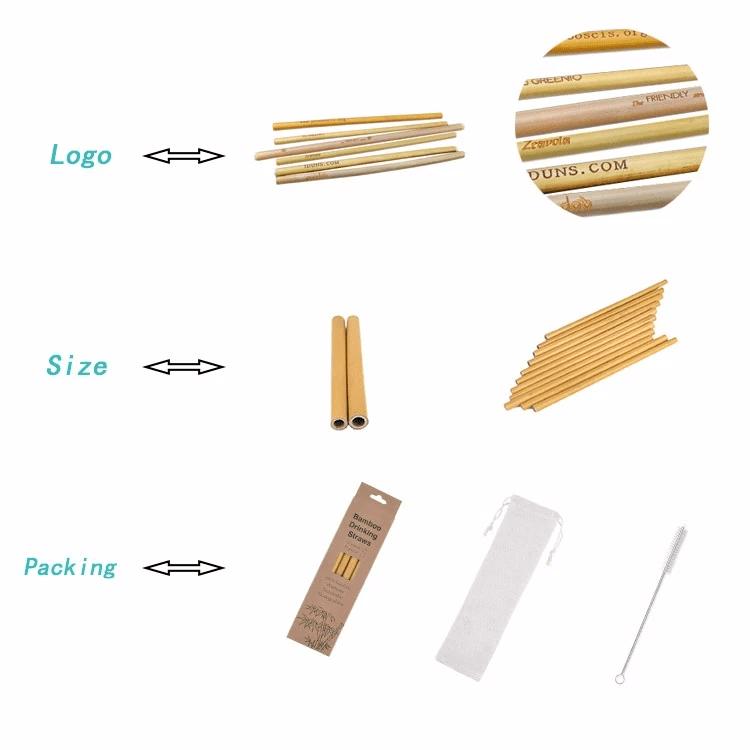 Bamboo Straws from China