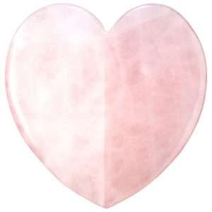 Rose Quartz Heart Facial Sculptor