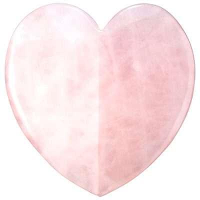 Rose Quartz Heart Facial Sculptor