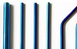 Can Colored Metal Straws be customized or Safe