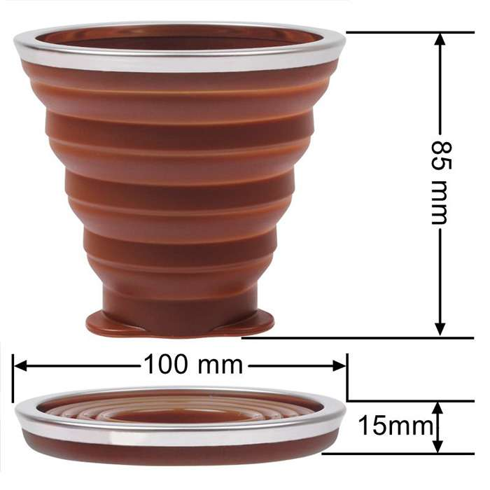 collapsible cup wholesale