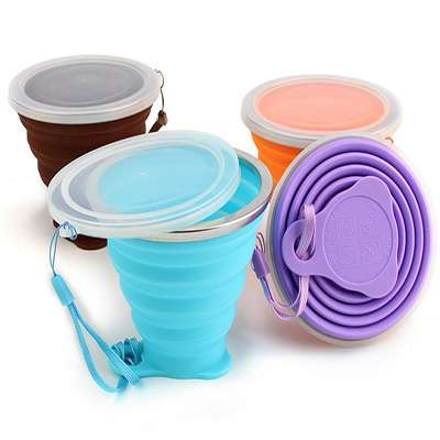 silicone collapsible cup wholesale