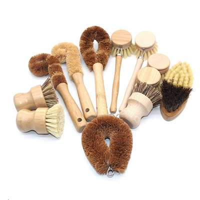 Wholesale Bamboo Scrub Brush Manufacturer