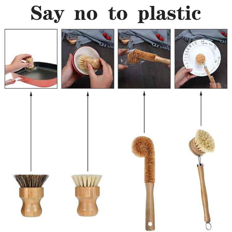 bamboo bottle brush wholesale