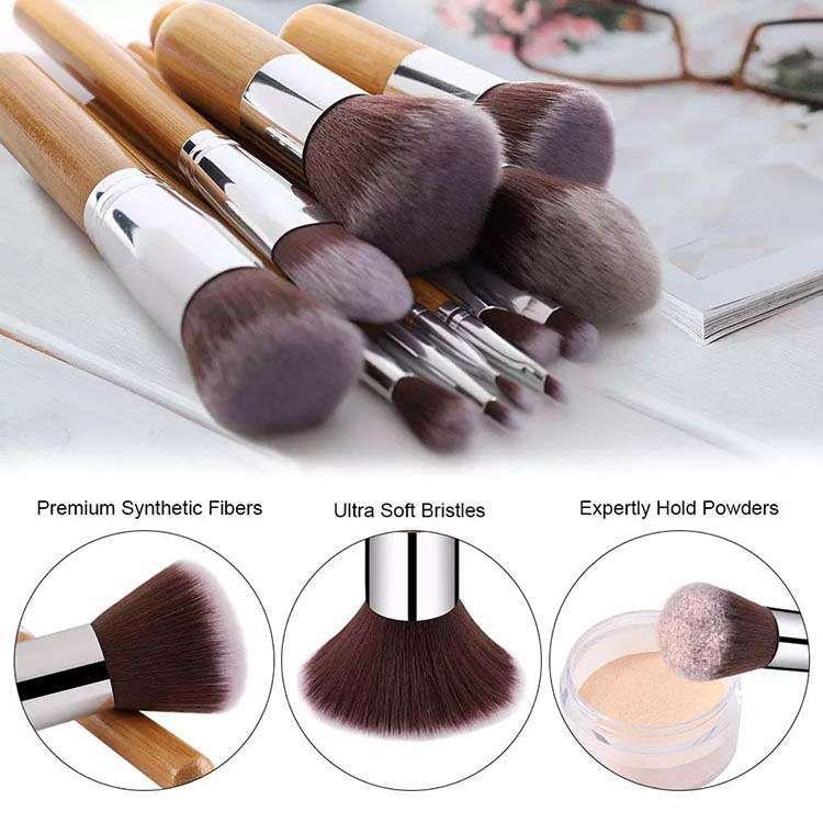 bamboo makeup brush China