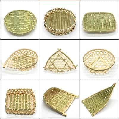 bamboo basket wholesale