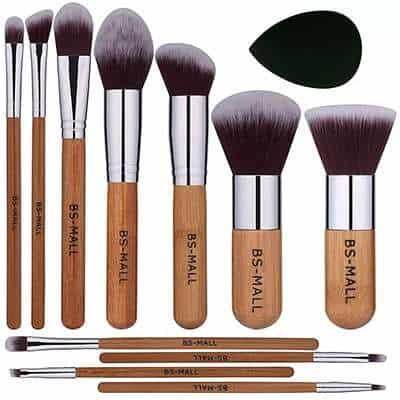 wholesale bamboo makeup brush