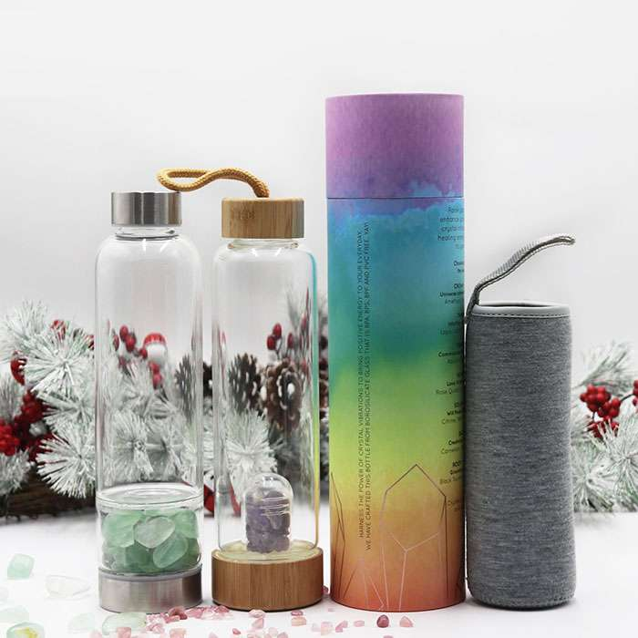 crystal infused water bottle wholesale supplier