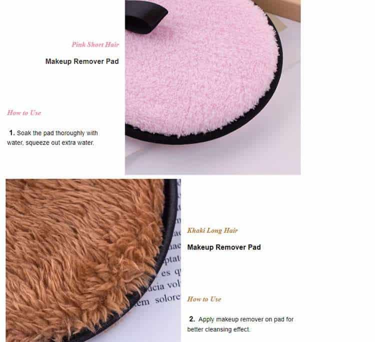 reusable makeup pads factory