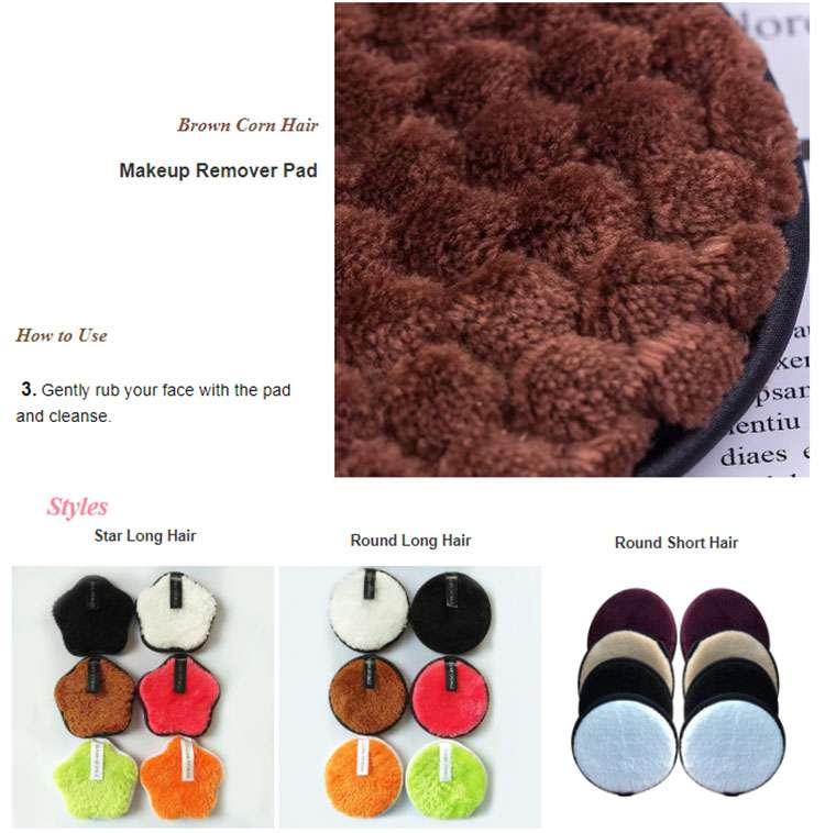 reusable makeup pads supplier