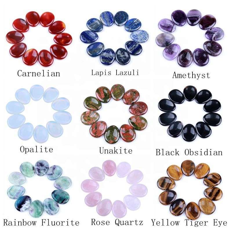 gemstone worry stone wholesale