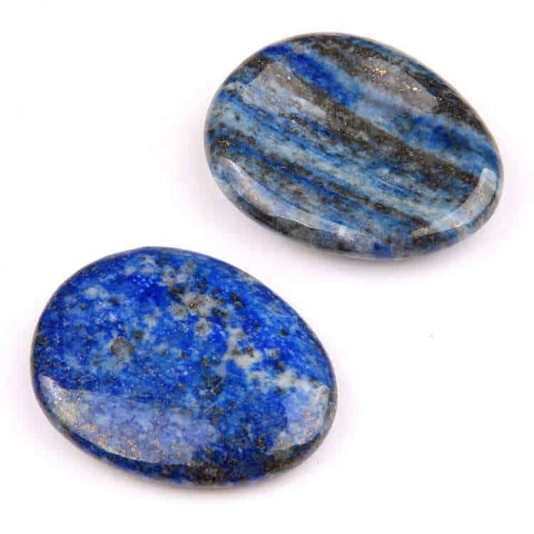 Lapis Lazuli worry stone factory