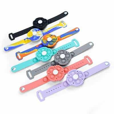 Fidget Spinner pop bracelet
