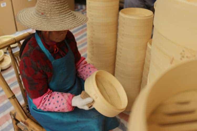 bamboo steamer basket wholesale supplier