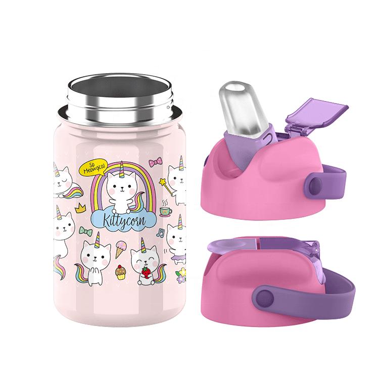 kids water bottle custom