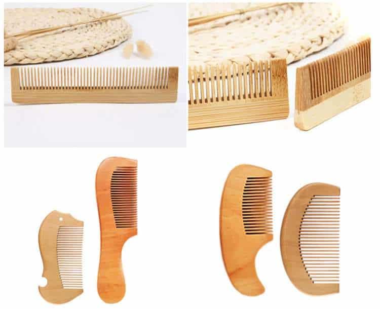 private logo bamboo comb
