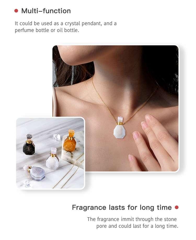Crystal Perfume Bottle Necklace wholesale