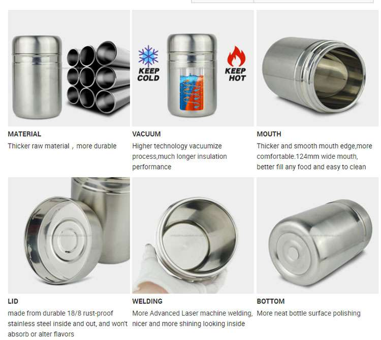 Insulated food jar supplier