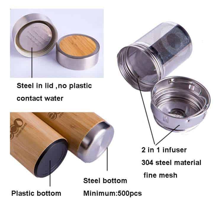 bamboo bottle supplier