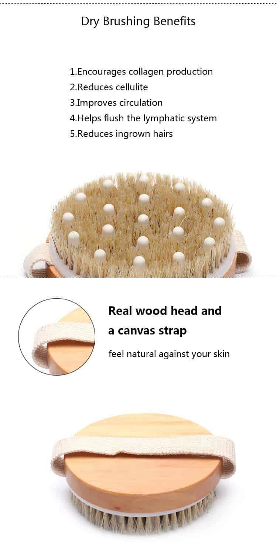 bamboo shower bursh manufacturer