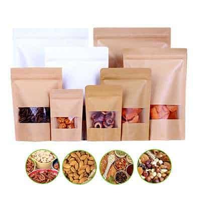 biodegradable kraft bags
