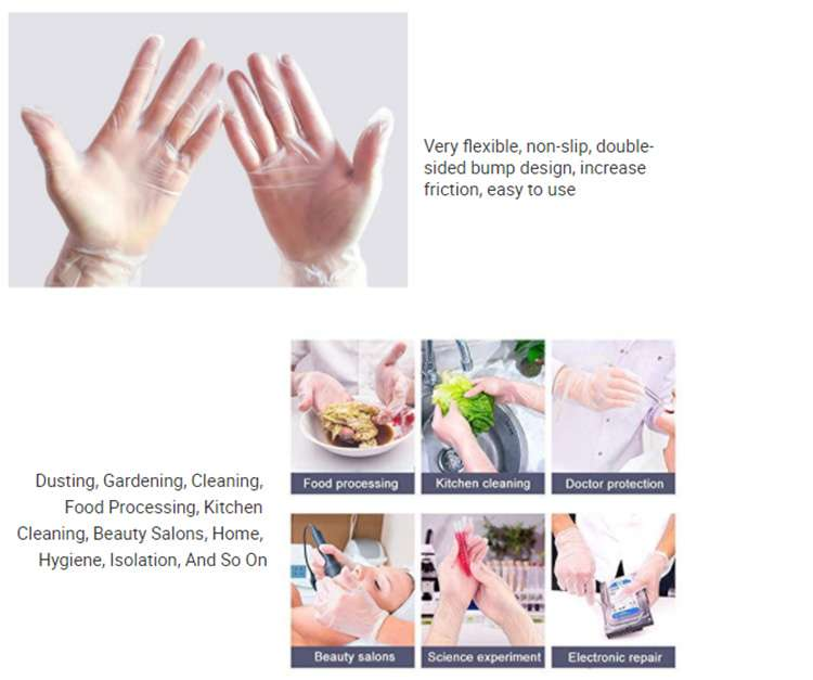 custom biodegradable disposable gloves