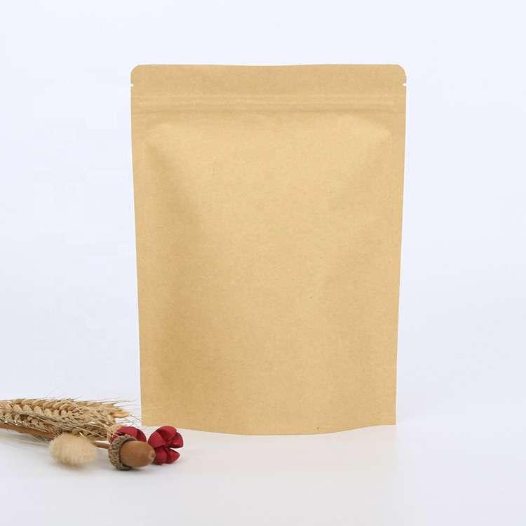 custom biodegradable kraft bags