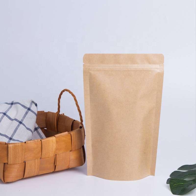 custom kraft biodegradable bags