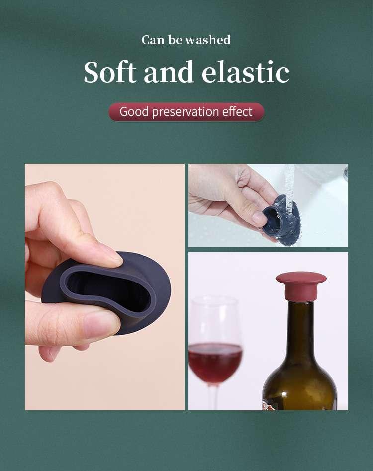 silicone wine stopper wholesale