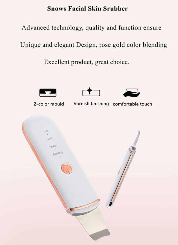 ultrasonic skin scrubber manufacturer