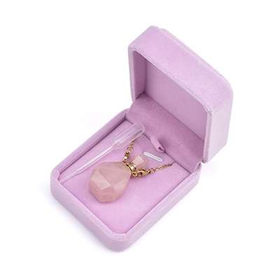 wholesale Crystal Perfume Bottle Necklace