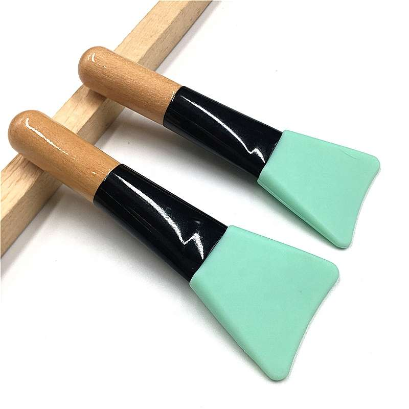 wooden silicon mask brush wholesale