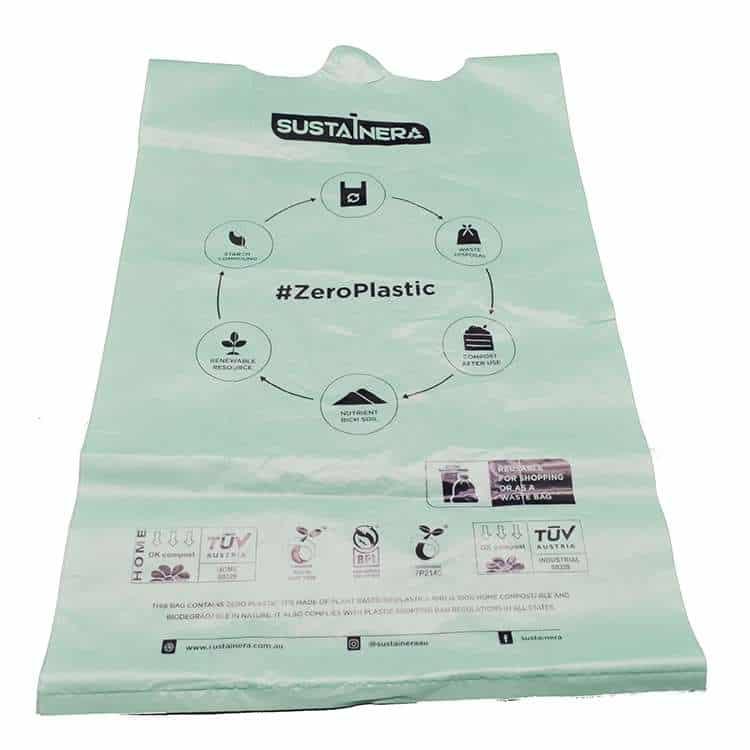 PBAT Shopping bag wholesale