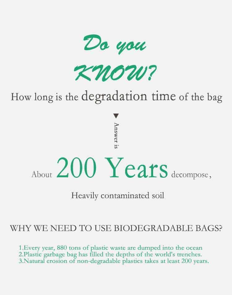 PBAT biodegradable garbage bags