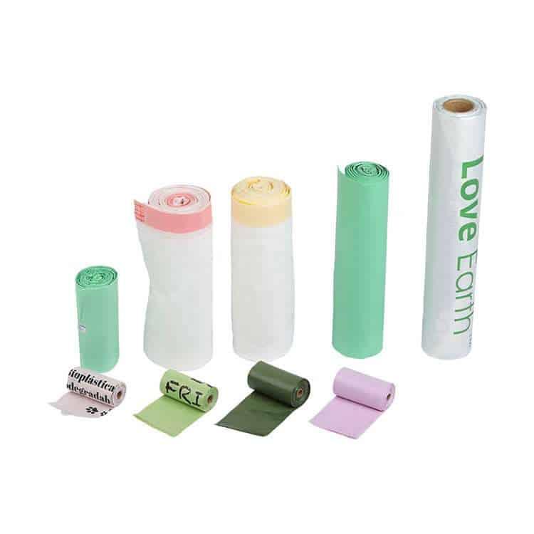 PLA biodegradable trash bags