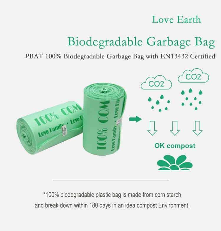 biodegradable trash bags manufacturer